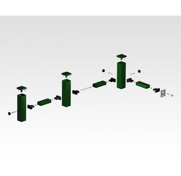 Thibo Jeux de connexion pour clôture à barres