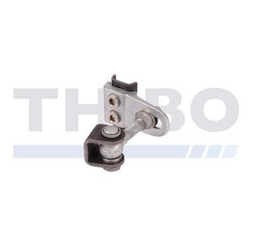 Locinox 180° weld-on 4D adjustable hinge
