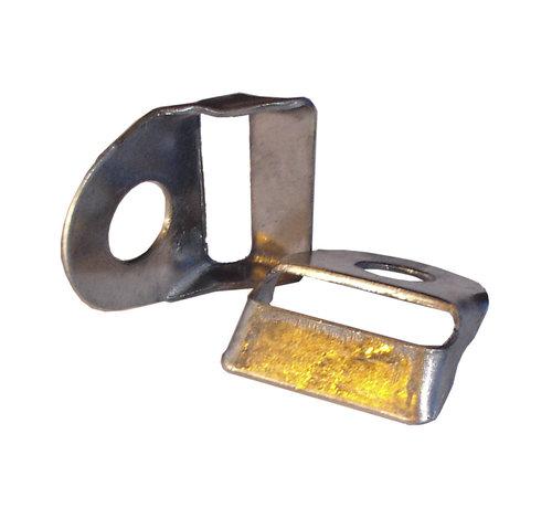 Thibo Eckverstärkungsteilen aus Edelstahl pro 10 Stück