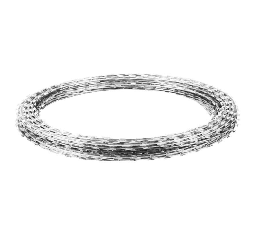 Barbed wire, galvanized (Zinc/Alu) - Copy