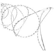 Thibo Scheermesjes draad (Nato / Concertina) - verzinkt