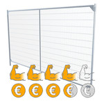 High Security mobile fences