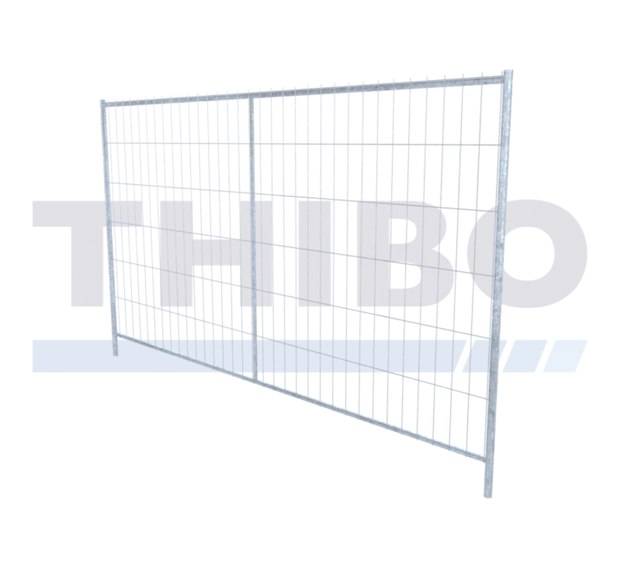 Heavy duty, galvanized industrial mobile fence - Copy