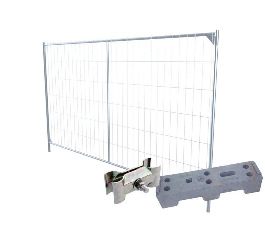 Assemble your mobile fence set
