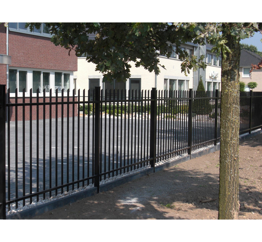 Bar fencing with round bars type Orion per meter