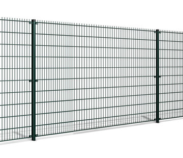 Thibo Double wire mesh fencing set per meter