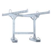 Thibo Transportation rack for crush barrier
