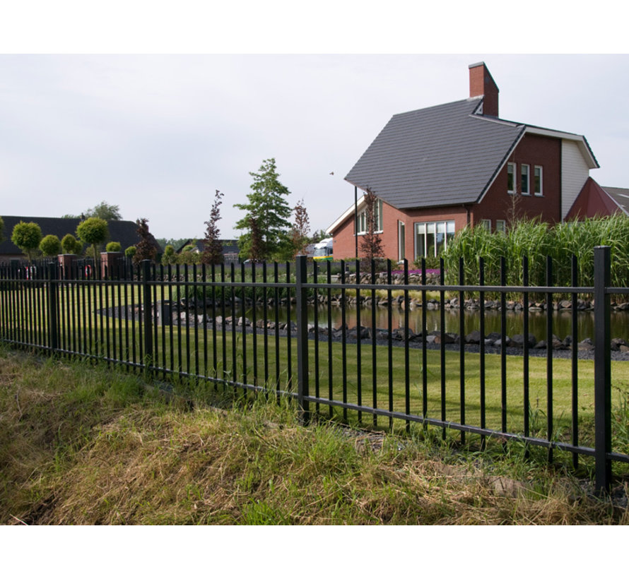 Bar fencing with square bars type Arena per meter