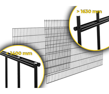 Thibo Double wired mesh panel  8/6/8