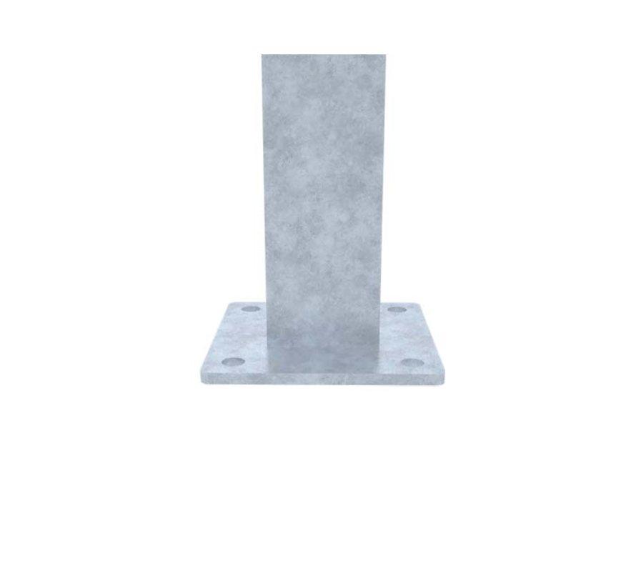 Staander 60 x 40 op voetplaat (Standaard, L of U)