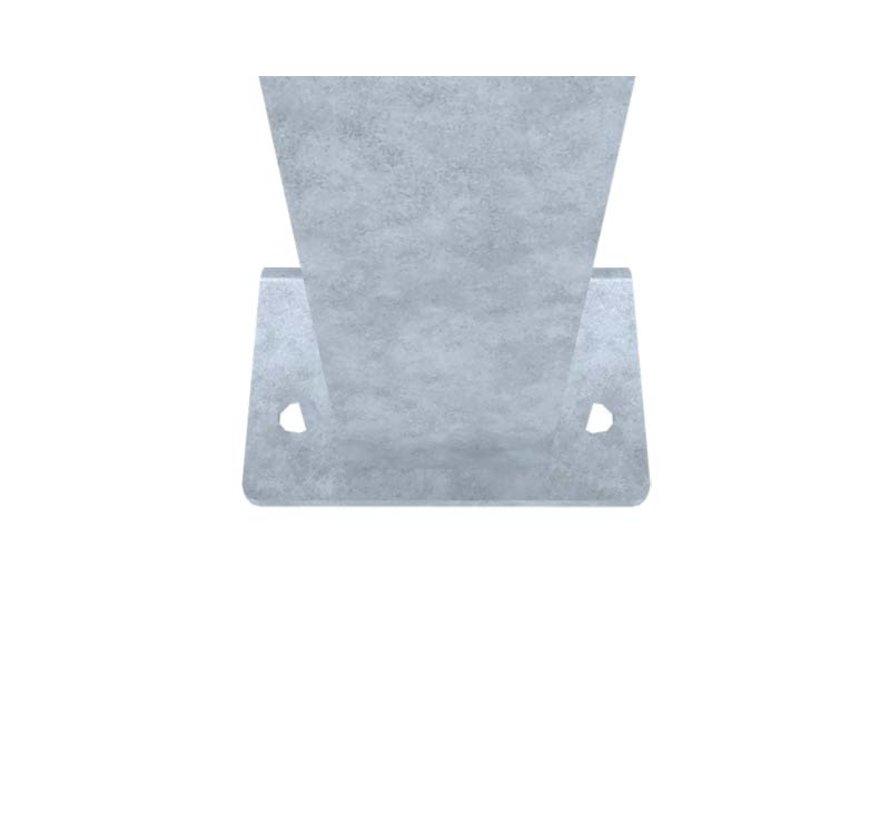Post 60 x 60 on footplate (Standard, L of U)