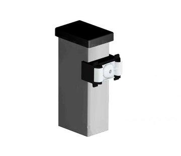 Thibo Post 60 x 40 with mounting blocks - Galvanised