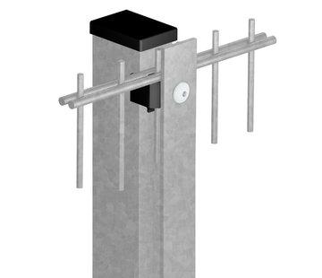 Thibo Staander 60 x 40 met afdeklijst - Verzinkt
