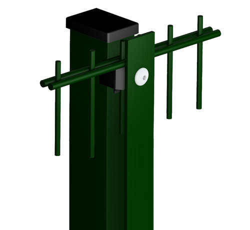 Thibo Post Minerva Pro 60 x 40 with cover strip - Powder coated