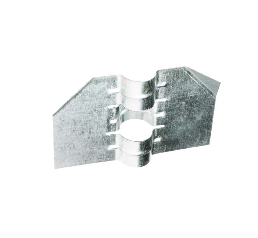 Stabilization plate for Ø60 mm posts
