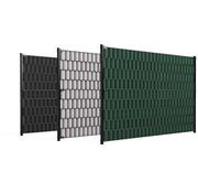 Thibo Double wire mesh panel privacy slats