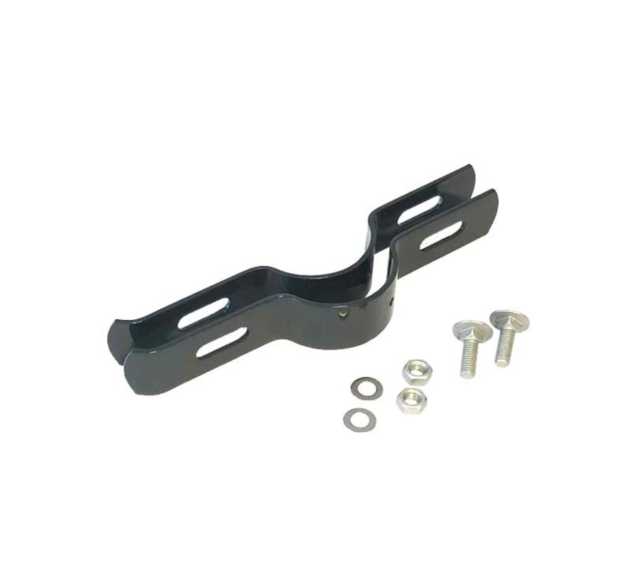 Double wire mesh fencing brackets Ø89 mm