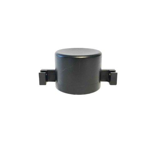 Thibo Plastic post cap Ø60 with mounting hooks