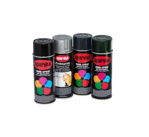 Thibo Spray cans acrylic and zincspray