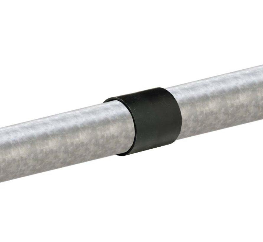 Plastic coupling for horizontal tube Ø42 mm