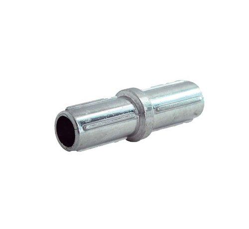 Thibo Aluminium coupling for horizontal tube Ø60 mm