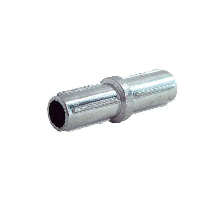 Aluminium coupling for horizontal tube Ø60 mm