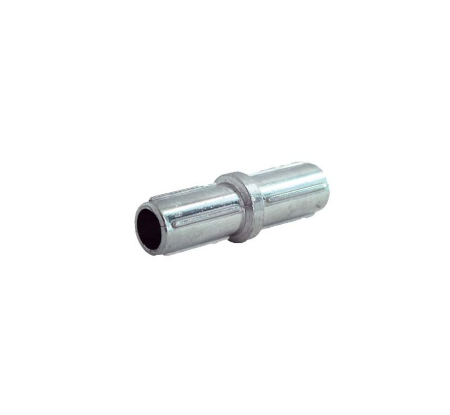 Aluminium coupling for horizontal tube Ø42 mm