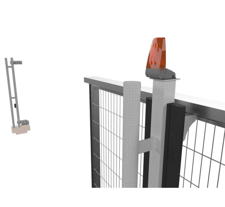 Elektronische bouwhek schuifpoort Portára