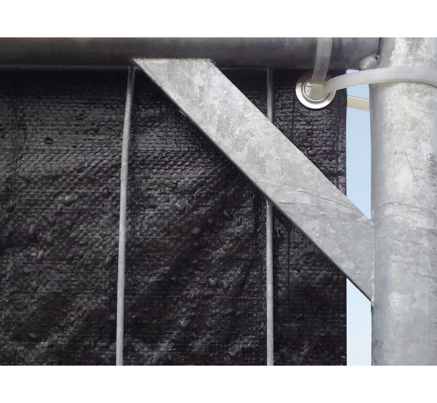 Mobile fence curtain 3410 x 1760 mm