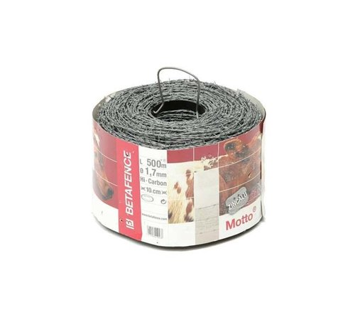 Thibo Barbed wire, galvanized (Zinc/Alu)