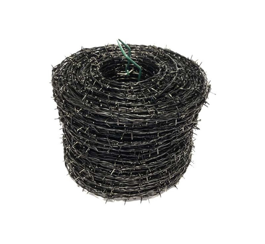 Thibo barbed wire, plastic coated