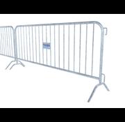 Thibo Crush barrier - 19 bars, with nameplate provision