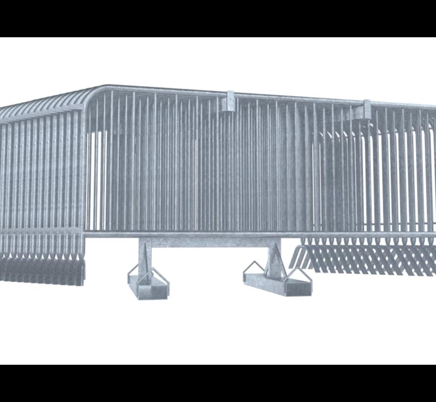 Transportbok voor hangend transport dranghekken