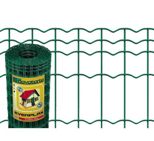 Thibo Heavy garden wire mesh - Plasti Everplax coated in green