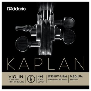 D'Addario Viool snaren D'Addario Kaplan Solutions Non-Whistling