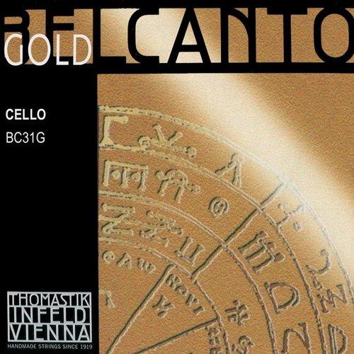Thomastik-Infeld Cordes pour violoncelle Thomastik-Infeld Belcanto Gold