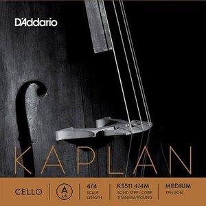 D'Addario Cordes pour violoncelle D'Addario Kaplan