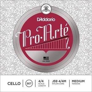 D'Addario Cordes pour violoncelle D'Addario Pro Arte