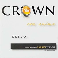 Cello strings Larsen Crown
