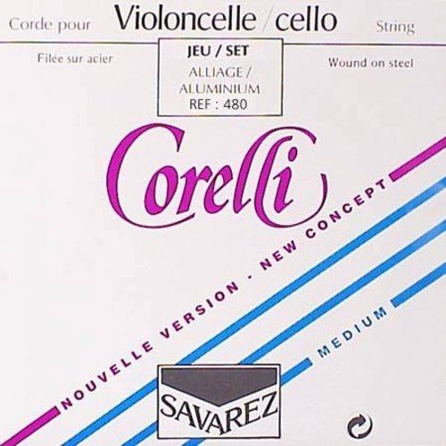 Savarez Corelli Cordes pour violoncelle Savarez Corelli
