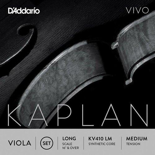 D'Addario Cordes pour alto D'Addario Kaplan Vivo