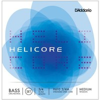 Double bass strings D'Addario Helicore