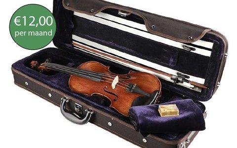 Violin advanced rental