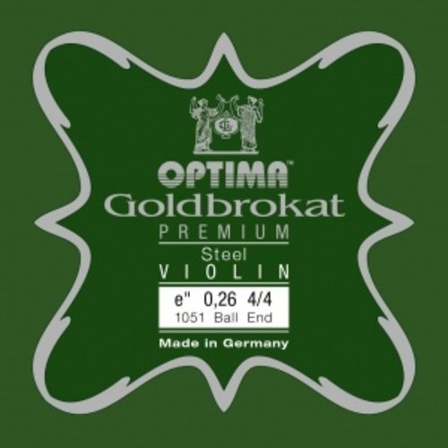Lenzner Optima Violin strings Lenzner Optima Goldbrokat Premium