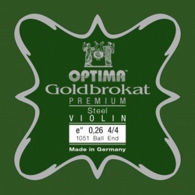 Lenzner Optima Violin strings Lenzner Optima Goldbrokat Premium