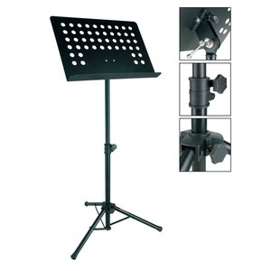 4strings Pupitre à musique métal orchestre