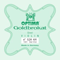 Violin strings Lenzner Optima Goldbrokat