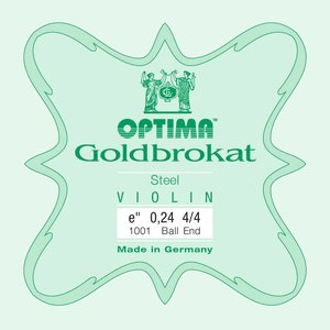 Lenzner Optima Cordes pour violon Lenzner Optima Goldbrokat