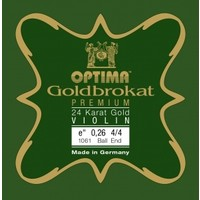 Violin strings Lenzner Optima Goldbrokat Premium Gold 24K
