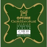 Lenzner Optima Viool snaren Lenzner Optima Goldbrokat Premium Gold 24K
